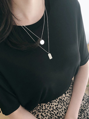 Nedin layered necklace