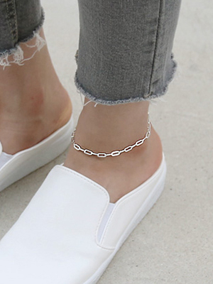 One chain anklets
