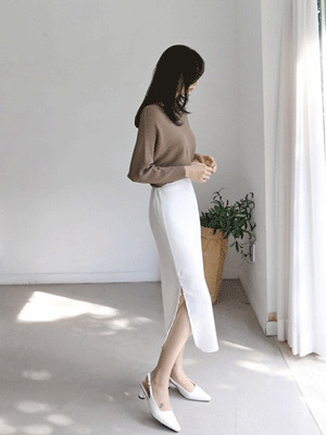 Fein Slit Skirt