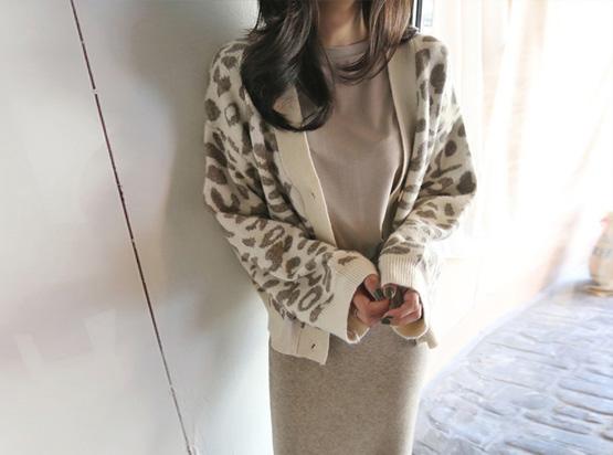 Barning Leopard Cardigan