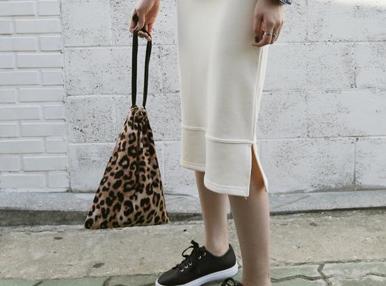 Pocket Leopard Bag