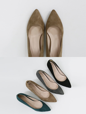 Foam Suede stiletto heel (5cm / 7cm)