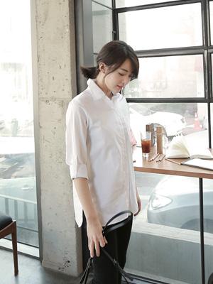 Rounding White Shirt