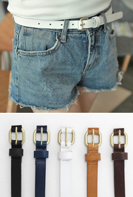 SEIKO Leather Belt