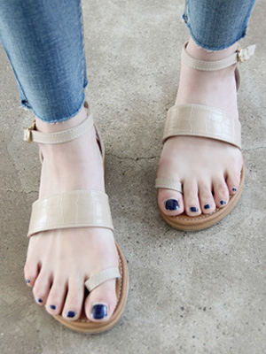 Bound Sandals (1.5cm) (40% OFF)