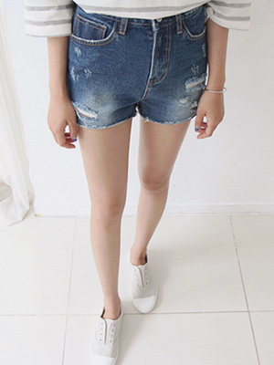 Comma Denim Shorts
