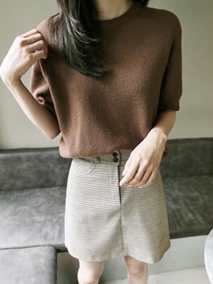 Nin Short-sleeve Knit