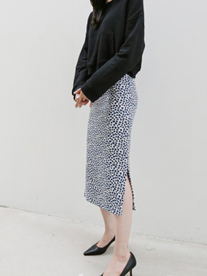 Your Leopard Knit Skirt