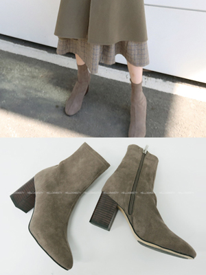 Benz Suede Ankle Boots (8cm)