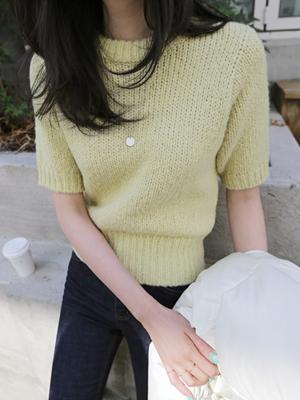 Nana Alpaca Short-sleeve Knit
