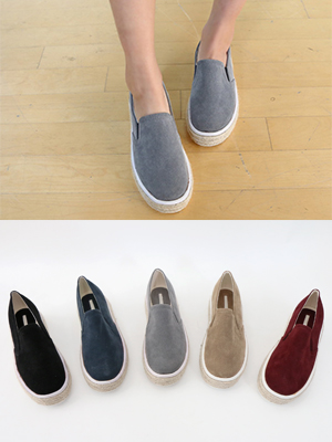 Simmons Suede Slip-on Shoes (3cm)