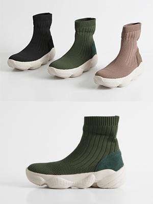 Monk Socks Sneakers (3.5cm)