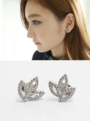 Carat Flower earring (50% OFF)