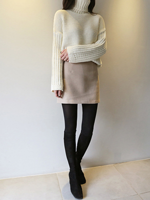 Classico Wool Mini Skirt