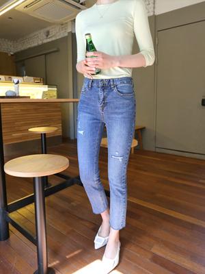 Fit Straight Pants (S, M, L)