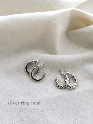 Marilyn Silver earring Set