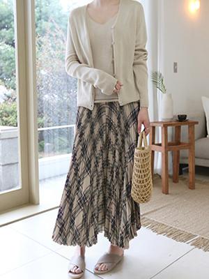 Marlon Pleats Skirt Pants