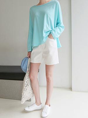 Louise cotton shorts