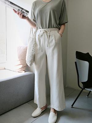 Lamay Linen band Pants