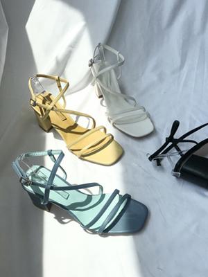 Chimere Strap Sandals (7.5cm)