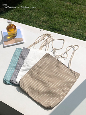 Scour Stripe Eco Bag