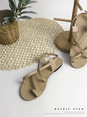Rommie on Strap Sandals (1.5cm)