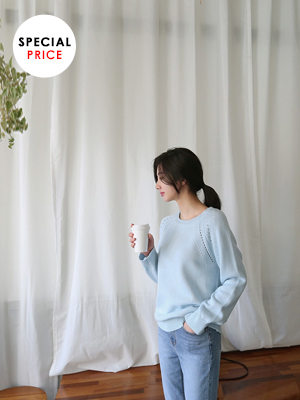 Scooter Round Knit (5Color) (20% OFF)