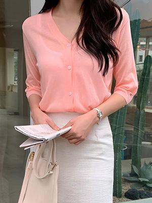 Short-sleeve Cardigan