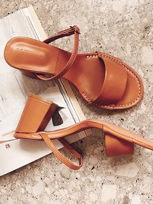 ★ Fitting ★ Lula Toe open mule (8cm) (30% OFF)