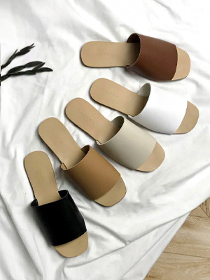 ★ Fitting ★ Noble Slippers (1cm) (40% OFF)