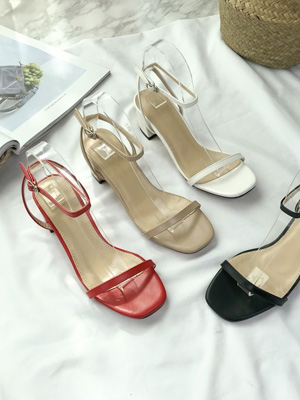 ★ Fitting ★ A & S Sandals (6.5cm) (40% OFF) / 240mm