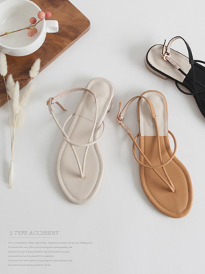 ★ Fitting ★ Eric Strap Sandals (2cm) (40% OFF) / 240mm