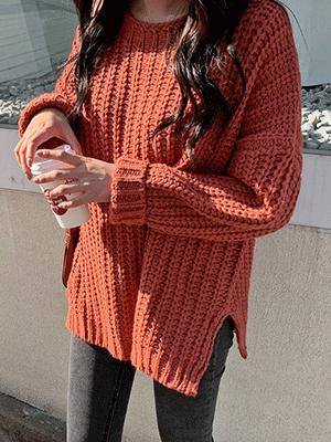 Harid loose fit Wool Knit