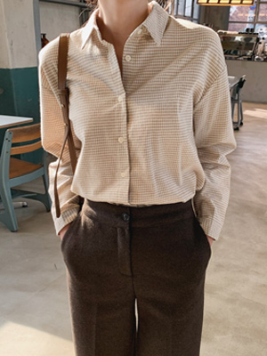 Emiles Gingham Check Shirt