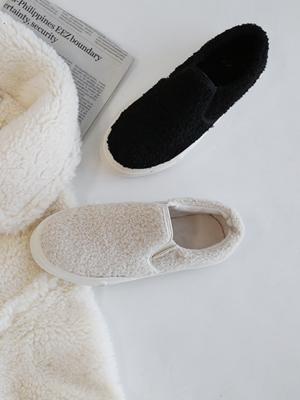 Yangyang Fur Slip-on Shoes (3.5cm)