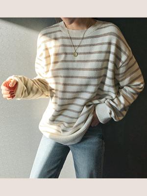 Lina Stripe Knit