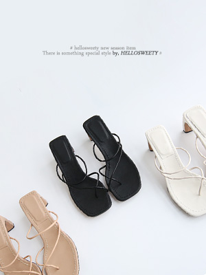 Pony Strap Sandals (7.2cm)