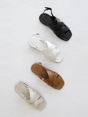 Bolden Strap Sandals (1.5cm)
